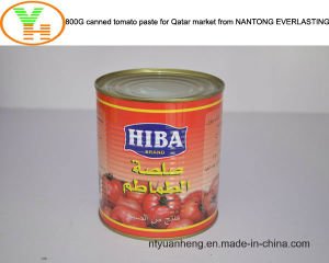 Canned Tomato Paste Manufacturer Healthy Canned Food OEM pictures & photos