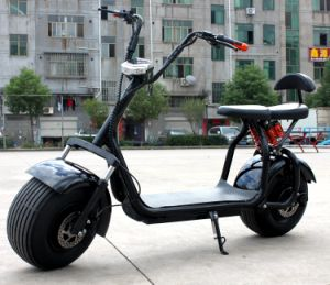 18inch Big Wheel Electric Motorcycle with 1000W 60V/20ah pictures & photos