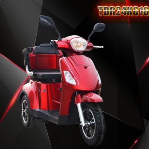 Grankee Tdr24k616mobility Scooter with 400W-800W Motor 24V45ah Battery pictures & photos