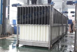 Direct Cooling Block Ice Machine for Food Cooling pictures & photos
