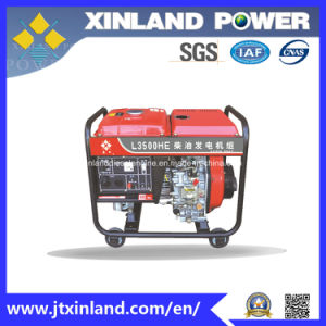 Single or 3phase Diesel Generator L3500h/E 50Hz with ISO 14001 pictures & photos