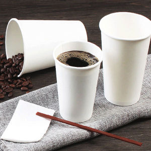 Customized Take out Paper Coffee Cups Insulated with Plastic Lid pictures & photos
