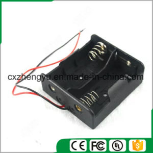 2*C Battery Holder with Red/Black Wire Leads