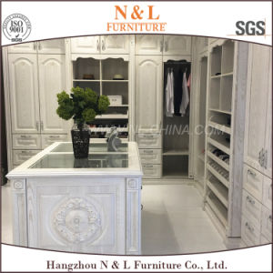 N&L Cherry Wooden Wardrobe Furniture Bedroom Closet Furniture pictures & photos