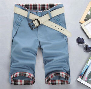 Fashionable and Trendy Men Cotton Casual Shorts (82660) pictures & photos