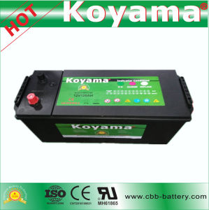 2017 New 120ah 12V Heavy Duty SMF Truck Battery N120 pictures & photos