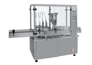 Gsz-4 Large Volume Filling and Stoppering Machine for Glass and Plastic Bottles pictures & photos