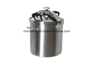 Ce&ETL 50L Stainless Steel Pressure Cooker with Composite Bottom (ET-DYG-50-F) pictures & photos