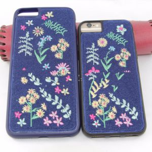 Trending Products Embroidery Mobile Phone Cover Case for iPhone 7 pictures & photos