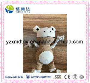 Plush Stuffed Frog Dogs′ Bite Soft Pet Toy pictures & photos