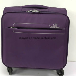 "Factory OEM 20"", 24"", 28"" Casual Travel Luggage Case with Wheels, Durable Oxford Fabric Trolley Suitcase Bag pictures & photos"