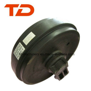 Kobelco Sk60 Front Idler Assy Guide Idler Undercarriage Parts for Excavator Roller Parts pictures & photos