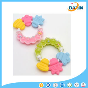 Cute Silicone Baby Teether Infant Training Tooth Bell Toys pictures & photos