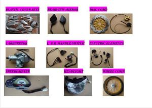 High Quality Silvery Aluminium Motorcycle Engine Parts Universal Main and Counter Shaft (SL125-Zz3) pictures & photos