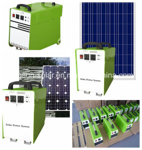 Micro-Grid 10W Portable Solar Home Lighting System Outdoor Lighting pictures & photos
