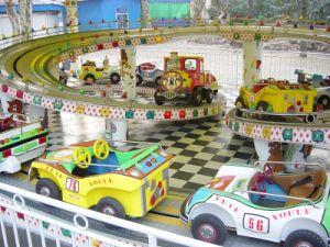 Outdoor Kids Playground Equipment Cars on Track pictures & photos