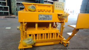Qtm6-25 Mobile Concrete Block Making Machine Movable Hollow Paver Brick Machine pictures & photos