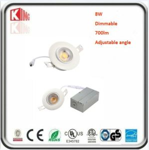 8W Dimmable 3 Inch Gimbal LED Downlight pictures & photos