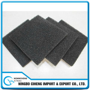 water system activated carbon air filter foam