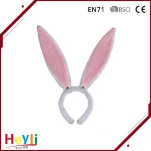 Cute Pink Long Bunny Ears Headbands Hairbands for Girls Party pictures & photos