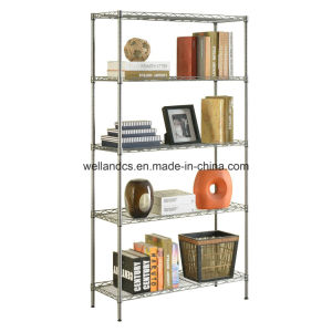 NSF Adjustable Home Metal Metro Wire Rack - 5 Shelf pictures & photos