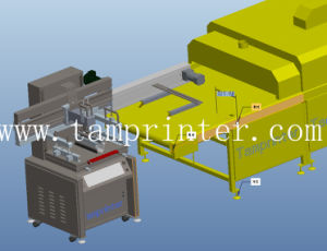 TM-Z2 Automatic Screen Printing Machine with Tunnel Oven pictures & photos