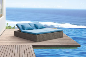 Outdoor Furniture Sun Loungers Wicker Sunbed pictures & photos