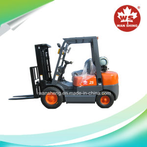 2.5 Ton LPG Forklift with Nissan K25 Engine pictures & photos