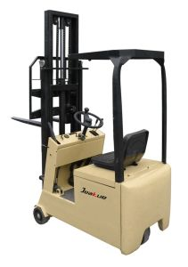 Best Seller and Cheap Price 500 Kg Three Wheels Electric Forklift pictures & photos