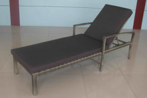 Leisure Daybed Rattan Outdoor Furniture-16 pictures & photos