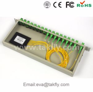 1X8 1X16 1X32 1X64 Steel Tube Type Fiber Optic PLC Splitter pictures & photos