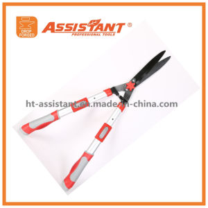 Teflon Coated Blade Wavy Hedge Shears with Telescopic Steel Handles pictures & photos
