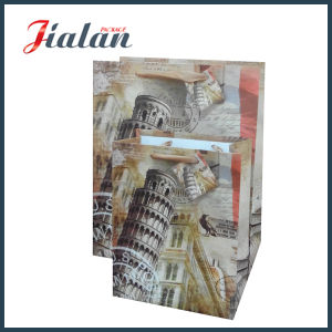 Luxure Wholesales Colorful Cheap Custom Logo UV Printing Paper Bag pictures & photos