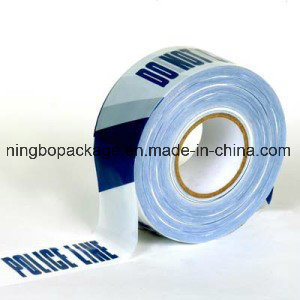 Blue and White Caution Tape with SGS TUV Certification pictures & photos