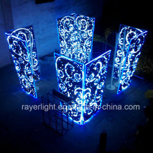 Customzied Large Outdoor LED Decoration for Holiday Square Lighting pictures & photos