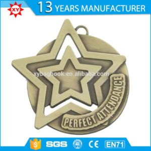2016 Hot Sell Star Shape Award Medals Schools for Sports pictures & photos