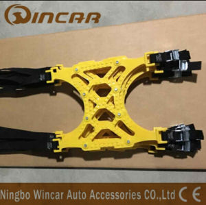 Color Yellow TPU Plastic Snow Tire Chain Vehicles Wheel Antiskid TPU Chain pictures & photos