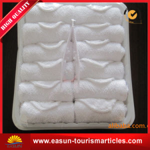 Hot Towels for Restaurants Tray Airline Towel pictures & photos