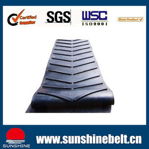 Chevron Type Rubber Conveyor Belts pictures & photos