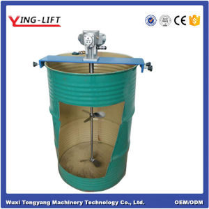 200L Stationary Pneumatic Drum Mixing Machine pictures & photos
