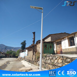 Long Time Backup LFP Lithium Battery 12V All in One System Aluminum LED Solar Street Light with IP65 Housing pictures & photos