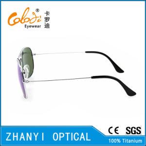 Latest Design Titanium Sunglass for Driving with Polaroid Lense (T3025-C5) pictures & photos