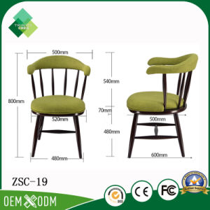 French Style New Design Wooden Armchair for Restaurant (ZSC-19) pictures & photos