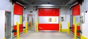 Flexible Rapid Roll Plastic PVC Industrial Rolling Door pictures & photos