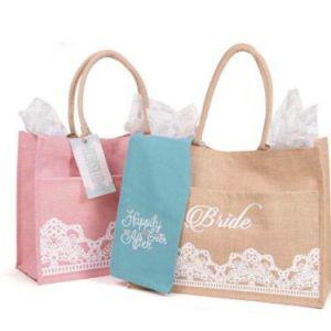 Cotton Jute Handbag Handle Promotional Bag for Packing/Packaging