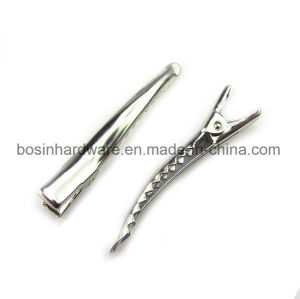 35mm Single Prong Alligator Hair Clip with Teeth pictures & photos