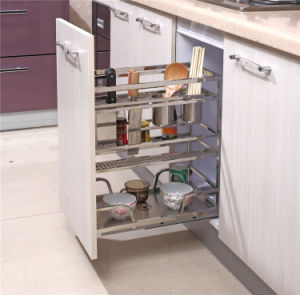 China Kitchen Accessories New Style Kitchen Pull out Cabinet Basket 207 pictures & photos