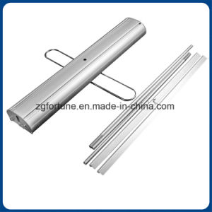Single Foot Double Sides Type Aluminum Roll up Stand pictures & photos