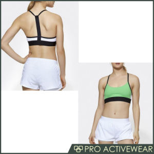 Factory Supply Fitness Wear Criss Cross Back Sports Bra pictures & photos