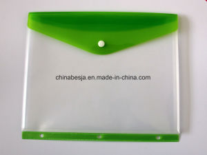 Besja Brand Side Load Pocket, Letter Size, Assorted Colors, China Poly Envelopes, China Poly Bag, China Poly File Bag pictures & photos